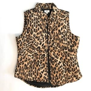 Crow & Ivy cheetah vest